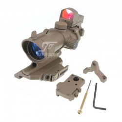 TARGET Riser Mount for MRO (Tan)