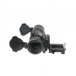 TARGET MRO Red Dot Sight, Riser Mount (Tan)