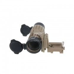 TARGET MRO Red Dot Sight with Killflash, Riser Mount (Tan)